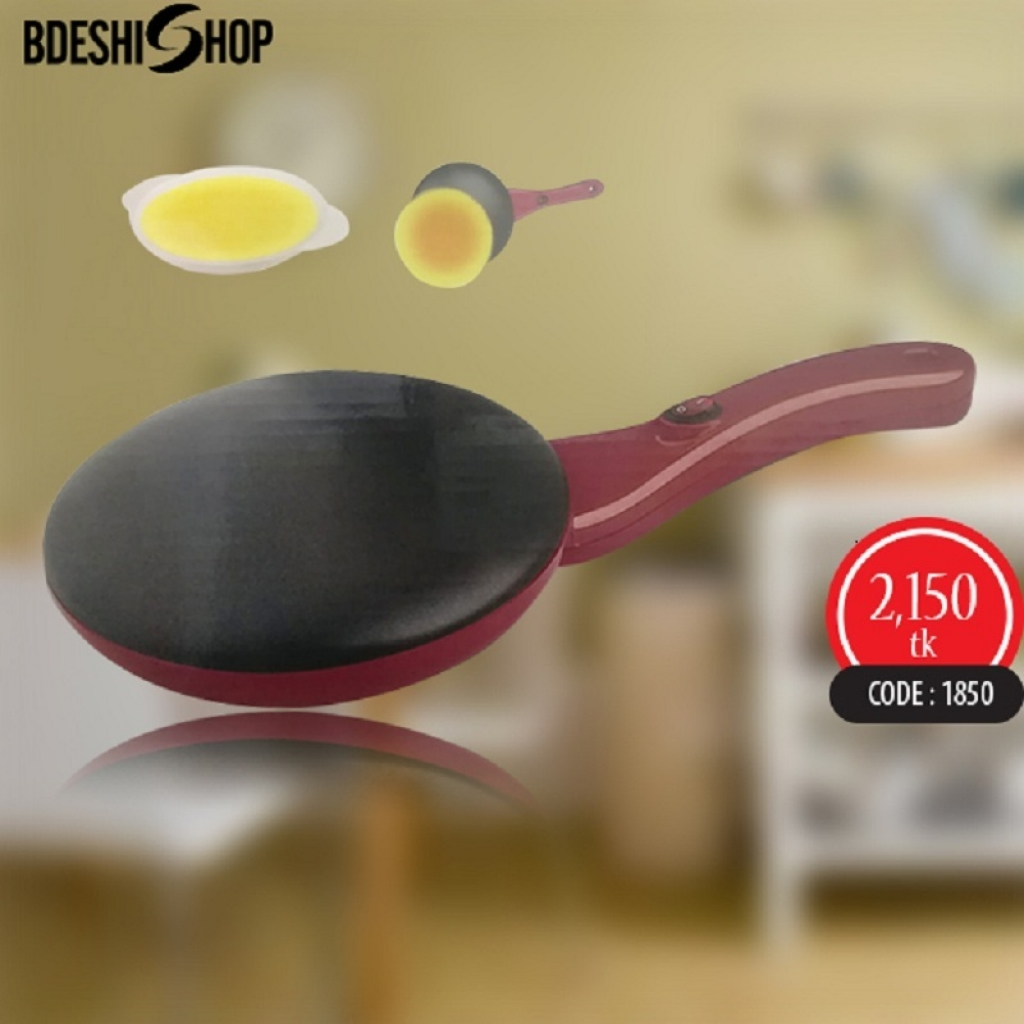 Non Stick Coating Electric Crepe Maker-1850