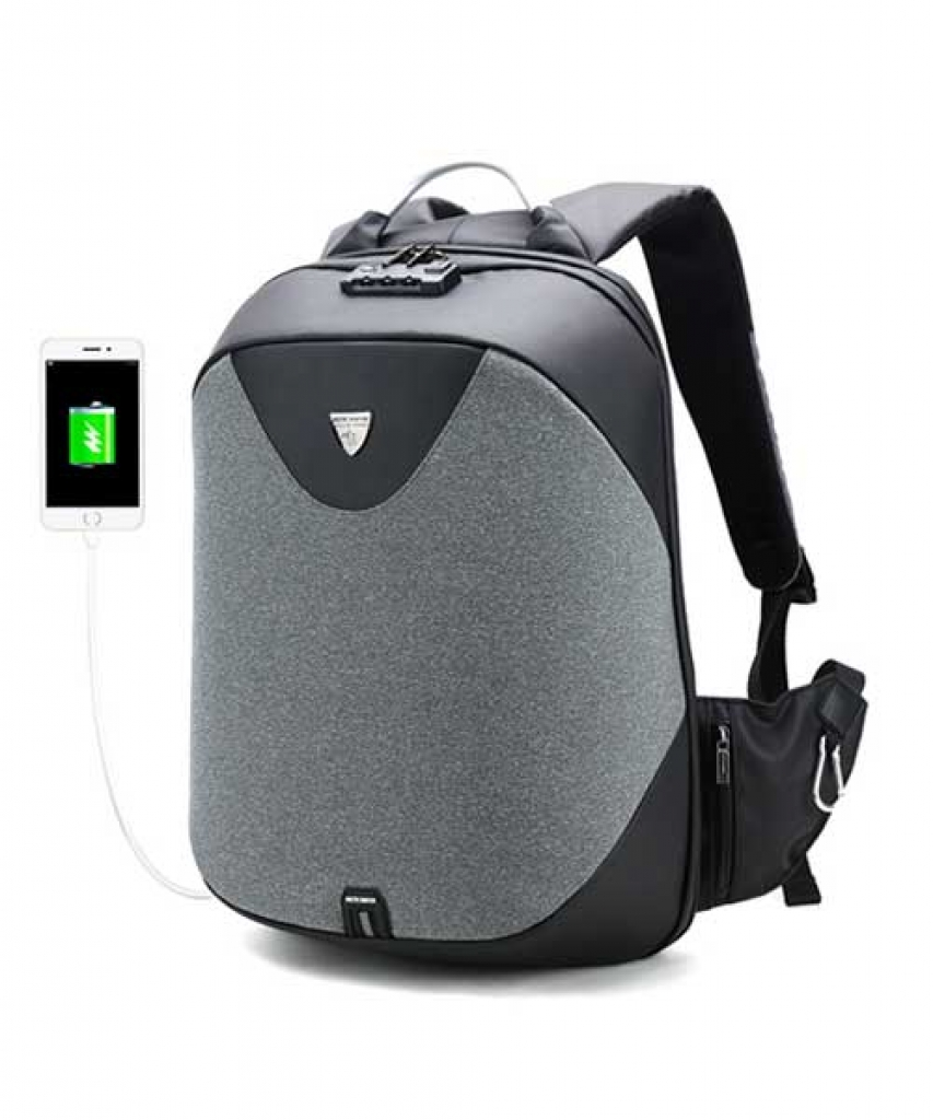 New Anti Theft Waterproof Backpack - 5013
